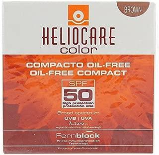 IFC CANTABRIA Heliocare Color Protector Solar Compacto sin Aceite, SPF 50, Marron
