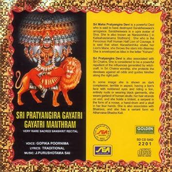 Sri Pratyangiri Gayatri Gayatri Manthram
