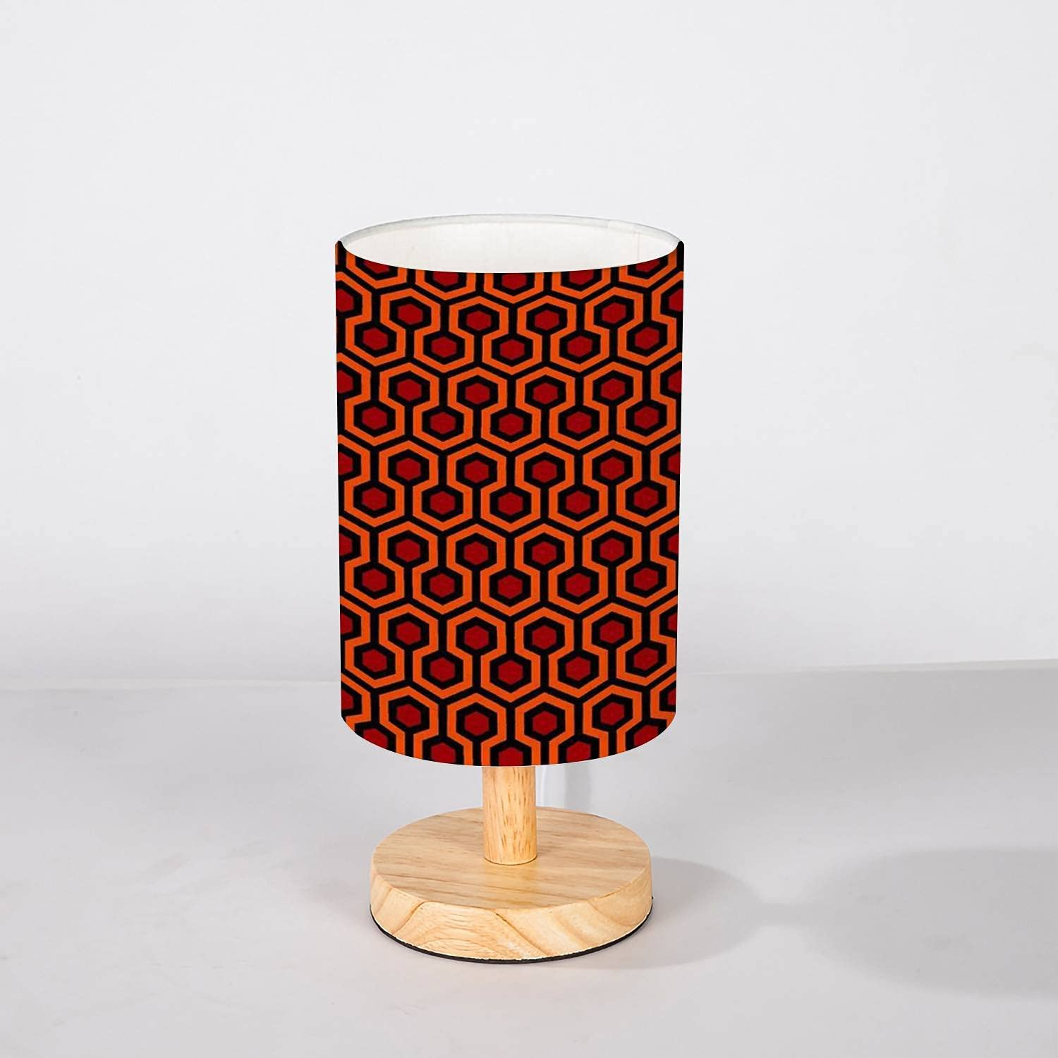 Minimalist OFFicial shop Baltimore Mall Bedside Table Lamp The Shining Overlook Sleep Doctor