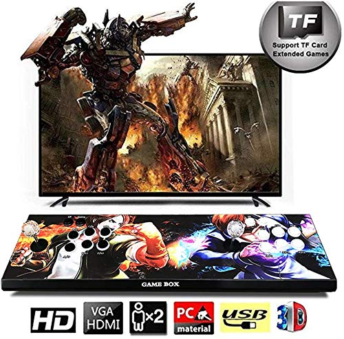 3D Home Arcade Game Console, Pandora's Box 1280x720 Full HD 4 spelers Max Arcade Machine 2700 Retro Games, Ondersteuning voor pc/laptop/tv / PS4