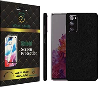 For SAMSUNG NOTE 20 ULTRA back full skin leather Texture felling by whats mob (Not Cover)
