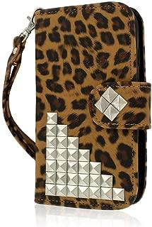 Motorola Moto G Wallet Case, MPERO FLEX FLIP Wallet Case for Motorola Moto G (1st Gen) - Studded Leopard