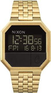 Nixon Re-Run Men's 80s Style Digital Watch (38.5mm. Stainless Steel Band)