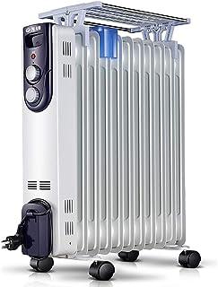 Inicio Radiador lleno de aceite de 2000 W, calentador eléctrico portátil con termostato, 3 configuraciones de calor, termostato y corte de seguridad, el uso de la madre y el bebé a gusto, con