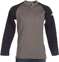 Rasco FR Men's Two-Tone Henley T-Shirt