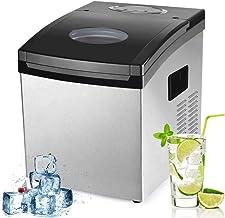 ZOUSHUAIDEDIAN Ice Maker Machine électrique Portable Machine à glaçons avec comptoir de Glace Scoop, Glaçons Prêt en 10-15...