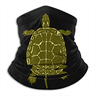 Native American Turtles Logo Adult Thick Graphic Neck Gaiter Scarf Face Mask For Cycling Motorcycle Fishing