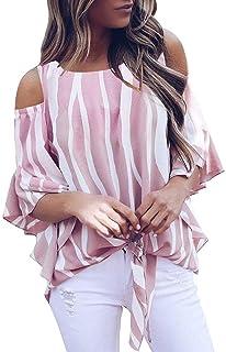 Damen Mode Blusen Elegant Spitze Chiffon O Hals Shirt Tops Mit Blumenblatt Ärmel