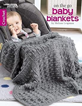 On The Go Baby Blankets  Crochet-6 Car Seat Covers for Babies and Toddlers