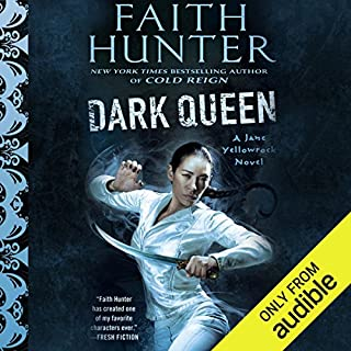 Dark Queen     Jane Yellowrock, Book 12              Written by:                                                                                                                                 Faith Hunter                               Narrated by:                                                                                                                                 Khristine Hvam                      Length: 16 hrs and 51 mins     15 ratings     Overall 4.9