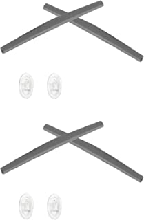 2 Pair Replacement Earsocks & Nosepieces Kits for Oakley Whisker - More Options