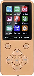 MP4 Player, Non-Slip 8G Music Player, for Music Lovers,(Rose Gold)