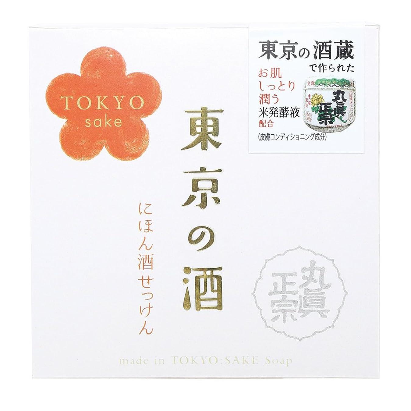 会話甘くする心のこもったノルコーポレーション 東京の酒 石けん OB-TKY-1-1 100g