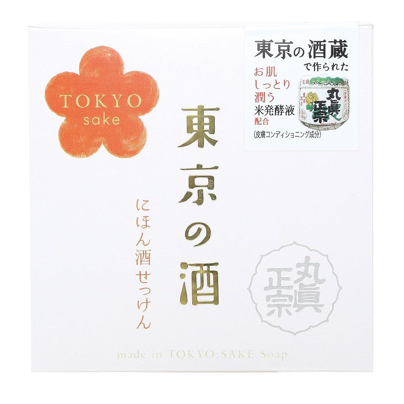 豊富な進行中確率ノルコーポレーション 東京の酒 石けん OB-TKY-1-1 100g