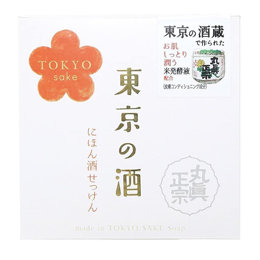 免除するファックス古いノルコーポレーション 東京の酒 石けん OB-TKY-1-1 100g