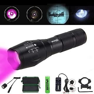 VASTFIRE Focusable Infrared Flashlight IR Light Thermal Hog Hunt Bobcat Fox Rat Night Vision Hunting NOT Regular Flashlight BUT Infrared Illuminator