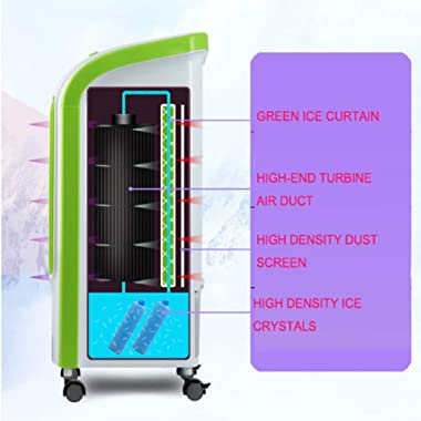 QILIN Household Refrigeration Air Cooler, 220V Water-Cooled Air-Conditioning Fan, Mobile Summer Air Cooler
