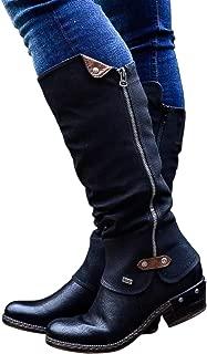 womens black construction boots