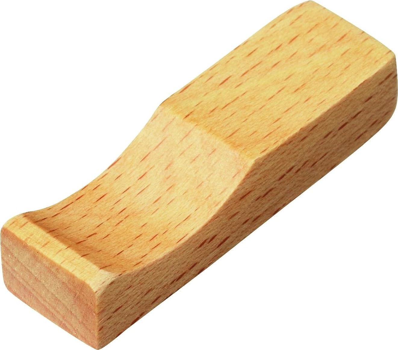 機構贈り物ビン山下工芸 ブナ箸置 5×1.4cm 16071990