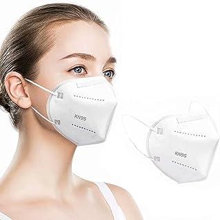 Simonetta Vespetti Paquete de 100 Cubrebocas KN95, 5 Capas de Protección, Ajustador Nasal Oculto, Transpirable y Cómodo