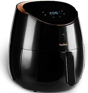 comprar comparacion VonShef Freidora sin Aceite de Aire Digital 5L de 2000W – Cocina Bajo en Grasa y Más Saludable, Fría, Hornee, Rostice y Re...
