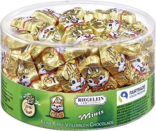 Riegelein - Minis Knuddelhäschen Schokolade Fairtrade - 80x5g/400g