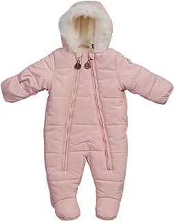 baby girl fluffy snowsuit