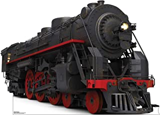 Advanced Graphics Black and Red Steam Train Life Size Cardboard Cutout Standup