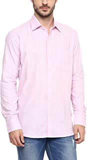 AMERICAN CREW Men's Cotton Full Sleeves Formal Shirt