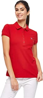 U.S. Polo Assn. Polos For Women, Red L, Size L