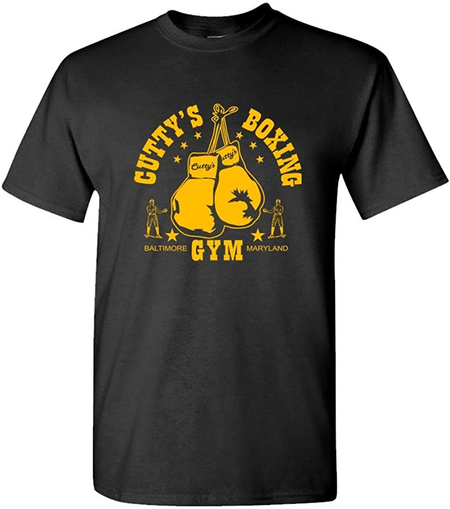 Boxing CUTTY'S Gym - Baltimore The Cut - Mens Cotton T-Shirt