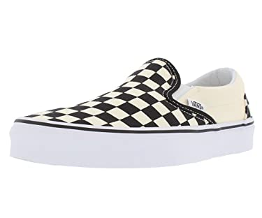 Vans - Unisex Adult Classic Slip-On Shoes in White, Size: