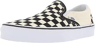 Vans Slip-On(TM) Core Classics (43 M EU / 11.5 B(M) US Women / 10 D(M) US Men, Black Off White Checkerboard)