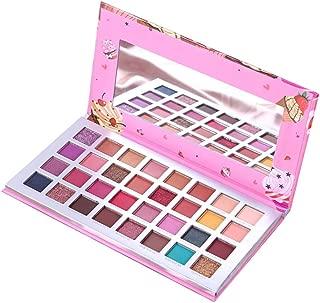 RedDhong 32 Colors Ice Cream Eyeshadow Palette, Matte Silky Pearl Shimmer Eyeshadow Powder Long-lasting Easy to Wear Makeup Palette