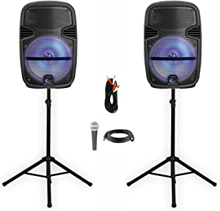 2 Technical Pro PB1400LED Bluetooth 12