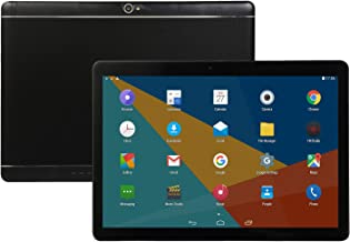 Studyset 10.1 inch Tablet Android 8.0 PC 8+128G ROM 2 SIM with GPS Black US Plug