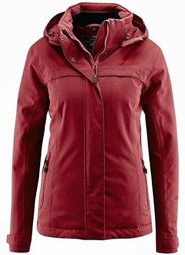 Maier Sports Lisbon Femme Veste d'hiver Beet rouge