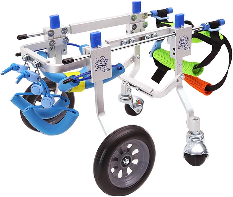 MagiDeal XXSL Dog Cat Cart Pet Wheelchair Handicapped Hind Legs Doggie   Puppy  XXS