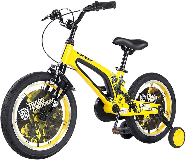 Las ventas en línea ahorran un 70%. Lkk Bicicletas para Niños Bicicletas de 16 Pulgadas 3-6-8 años años años Bicicleta para Niños Elegantes Bicicletas Amarillas Bicicletas Azules Bicicletas para niñas Regalo para Niños  varios tamaños