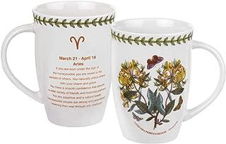 Pimpernel Botanic Garden Zodiac 12.6 oz Mug - Aries, Honeysuckle