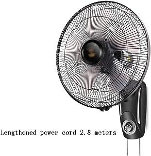 Ventilador de Pared Ventilador Montado En La Pared, Ventilador Mecánico de 16 Pulgadas con Control Remoto/Silencioso, Ventilador Industrial para Restaurante de Biblioteca (Color : Style 2)