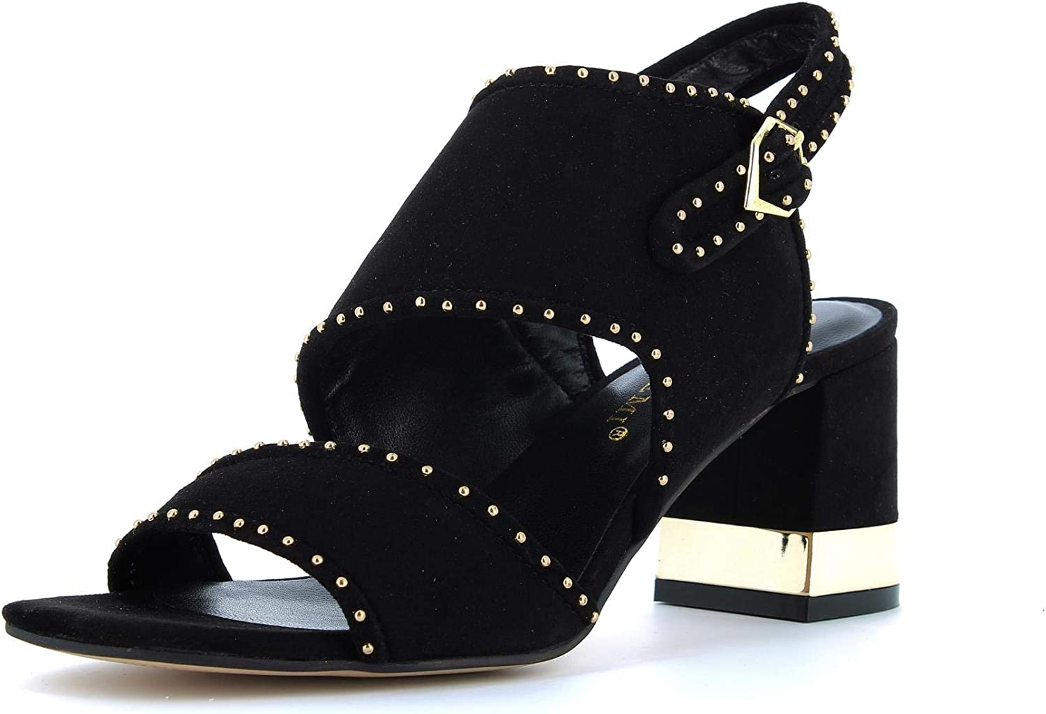 BRUNO PREMI shoes women sandals with heel BW1702P BLACK size 36 Black
