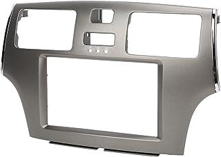 Fáscia de rádio estéreo para carro, painel de navegação de DVD à prova d'água moldura ABS decorativo para modificação auto...