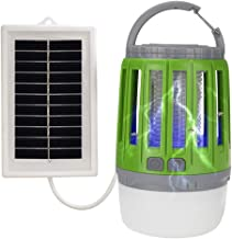 Chengstore Mosquito killer LED Camping Light Waterproof and USB Rechargeable Electronic Mosquito Killer Lamp with Retractable Hook Household Radiation-Free Mosquitoes Control
