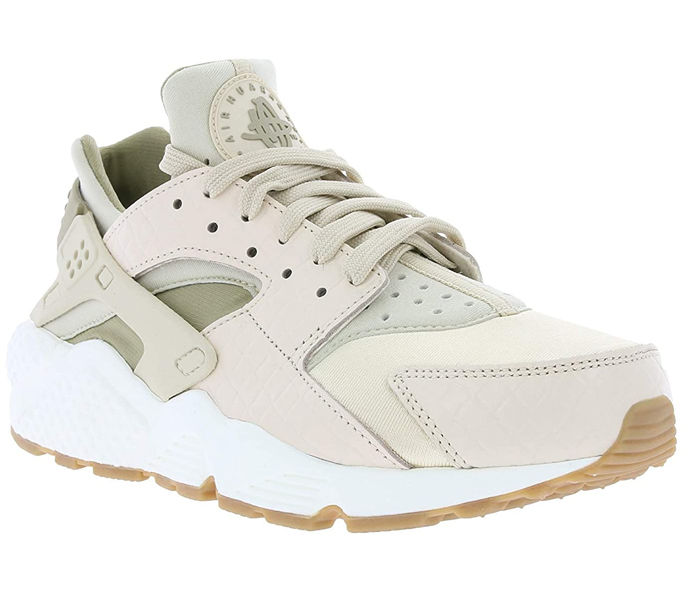 昇る正直韓国[ナイキ] Womens Air Huarache Run prm Low Top Lace Up Fashion Sneakers [並行輸入品]