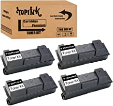 TopInk Compatible for Kyocera ECOSYS FS-3640MFP Printer Toner Cartridge High Yield-4 Pack