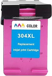 CMDZSW Cartuccia d'inchiostro ASW 304XL Compatibile per HP304 HP 304 XL Envy 5010 5020 5030 5032 5034 Deskjet 2632 2630 26...