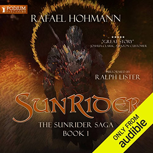 SunRider audiobook cover art