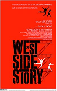 Pyramid America West Side Story Laminated Dry Erase Sign Poster 12x18