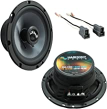 $64 » Fits Hyundai Santa Fe 2001-2006 Front Door Replacement Harmony HA-C65 Premium Speakers